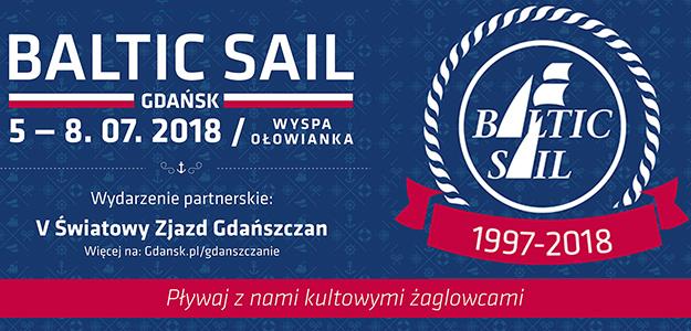 Już w ten czwartek! Zlot żaglowców Baltic Sail Gdańsk - aż 26 tradycyjnych żaglowców